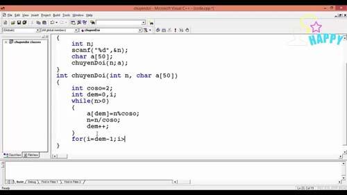 Bài tập về chuyển đổi số thành ký tự trong C