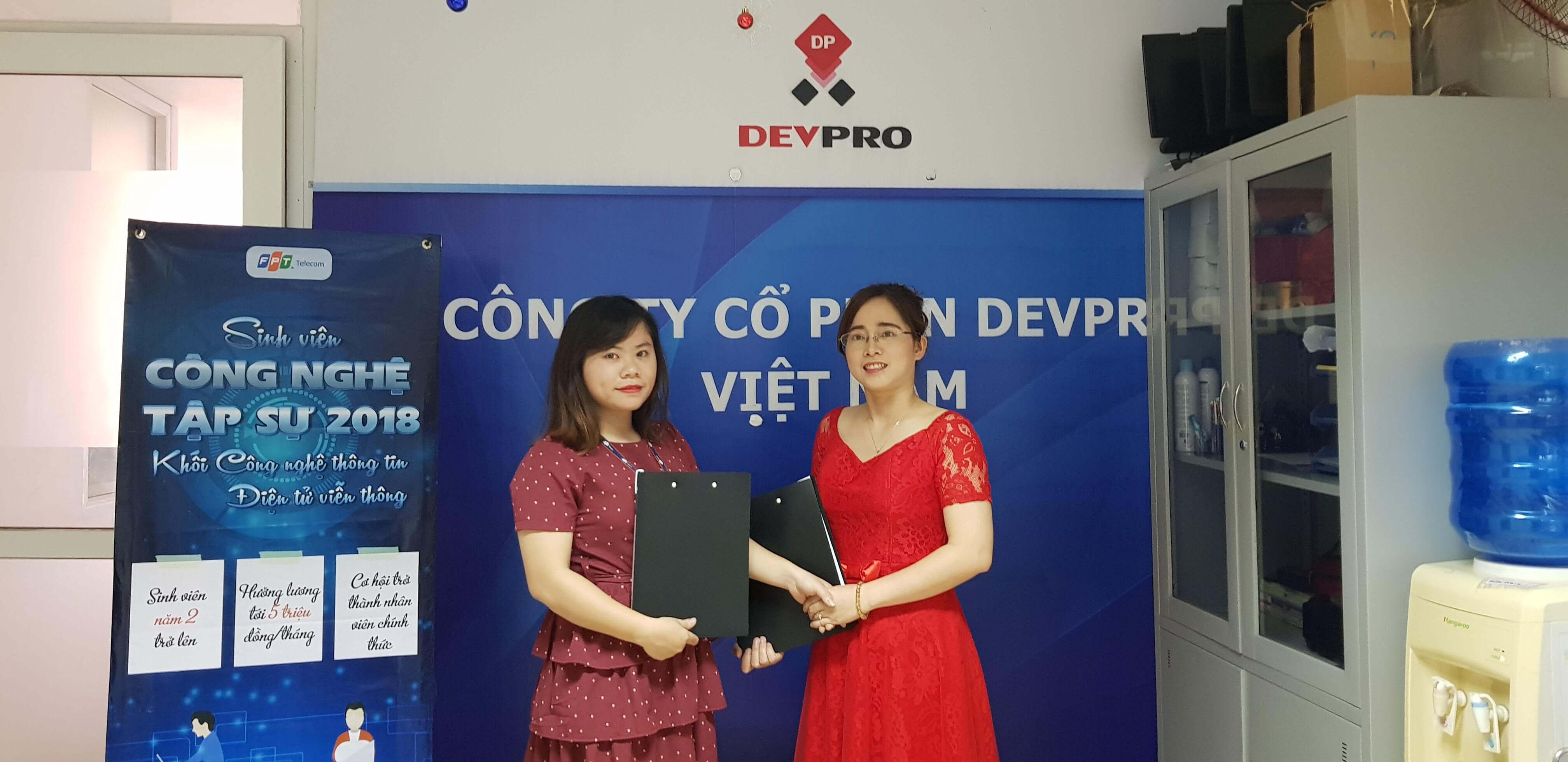 Lễ Ký Kết Hợp Tác giữa DevPro Việt Nam và FPT Telecom