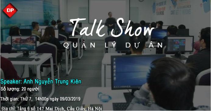DevPro Việt Nam tổ chức buổi Talk Show: Quản lý dự án.