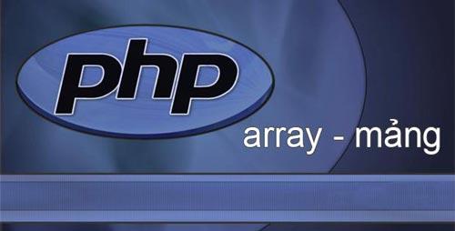 Tìm hiểu về Mảng (Array) trong PHP từ A đến Z